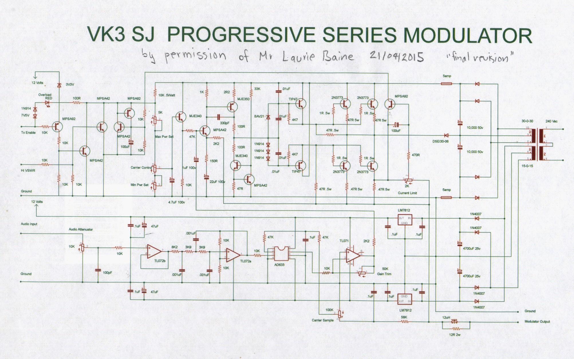 Vk3sj Am Transmitter Circuit Diagram Thumbmodulator Progressive Final 21 Apr 2015