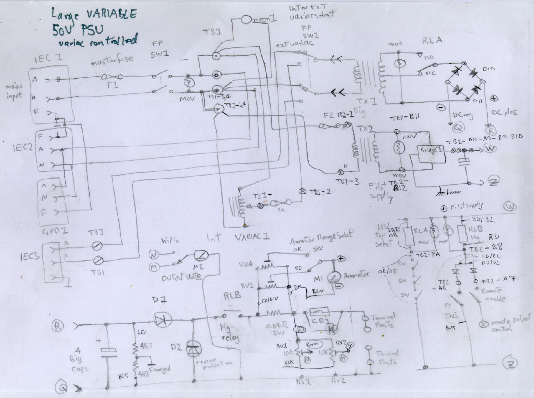 Psu Variac Variable Dc Power Supply Circuit Project Large 50v 2008jpeg
